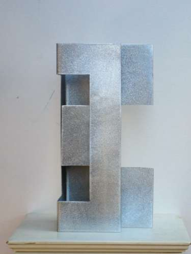 untitled GS-S16-3,  aluminum, 12 X 6 X 5 inches, $$75.0000